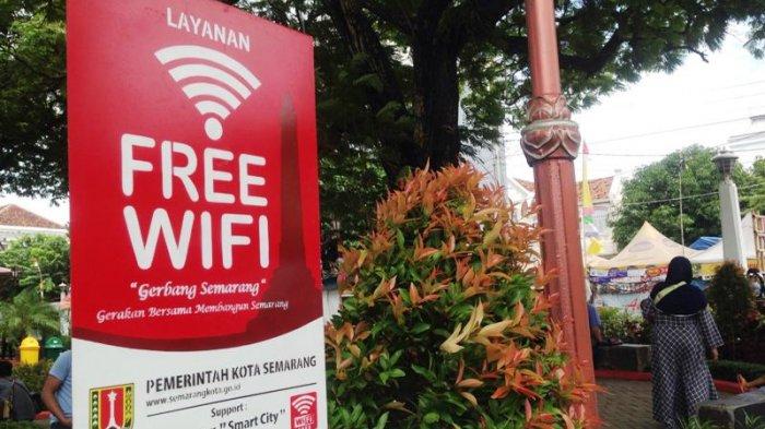 Wisatawan Bisa Manfaatkan Wifi Gratis Taman Sri Gunting Kota Semarang