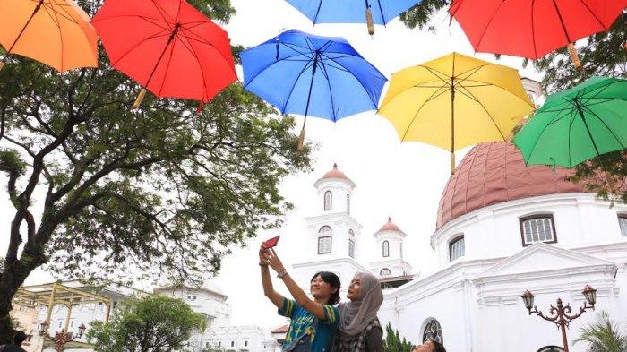 Yuk Rasakan Suasana Romantis Taman Srigunting Kota Semarang Kab