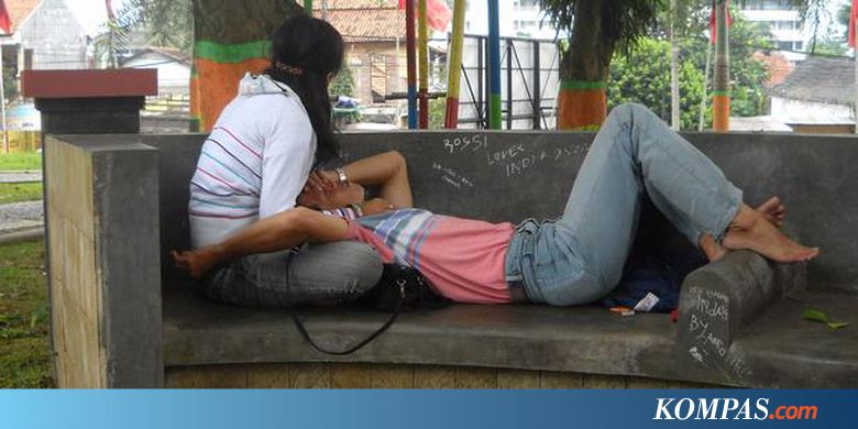 Inilah Shelter Mesum Taman Kota Kompas Unyil Kab Semarang