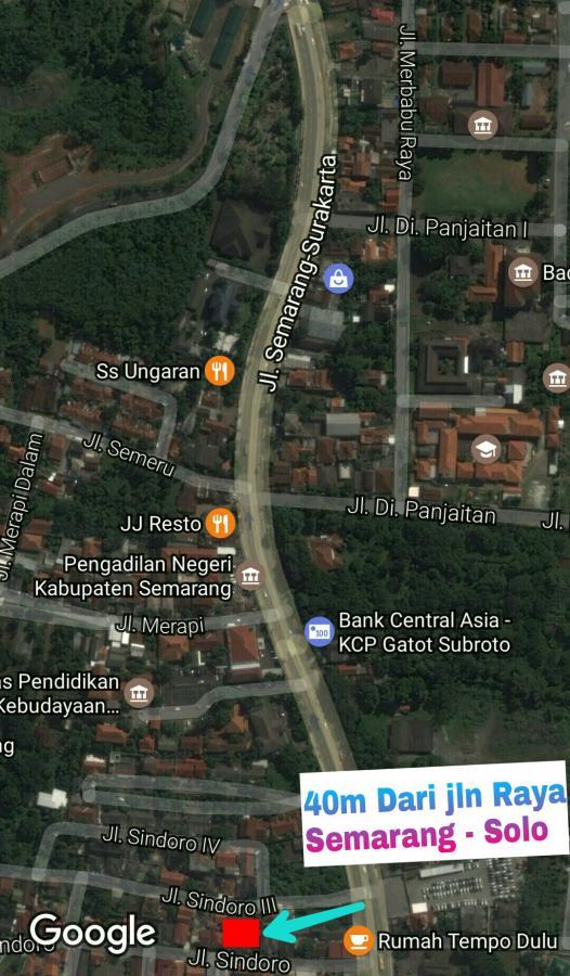 Rumah Dijual Idaman Sindoro 2lantai View Cantik Dekat Jln Raya