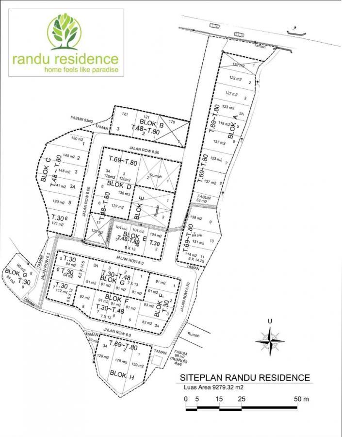 Rumah Dijual Ungaran Tipe 48 91 Randu Residence Semarang Taman