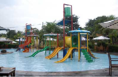 Fountain Water Park Resto Spread Bisnis Opening Homestay Villa Called