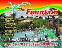 Fountain Waterpark Resto Oleh Desi Ambar Sari Kompasiana Water Park