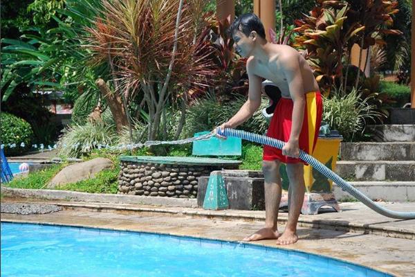 Fountain Waterpark Resto Wisata Air Asyik Menarik Lihat Jawa Tengah