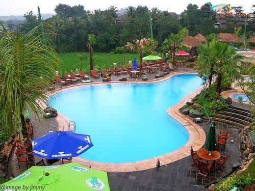 Imatze Beauty Fountain Residence Water Park Resto Berlokasi Desa Lerep