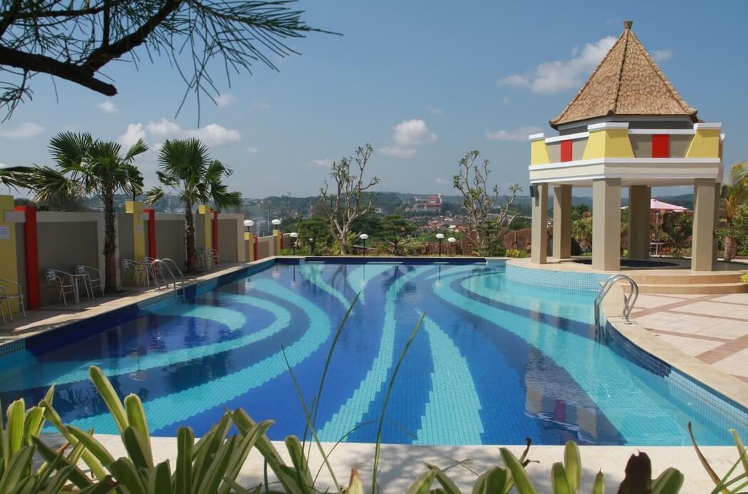 Jungle Toon Waterpark Semarang Fountain Water Park Kab