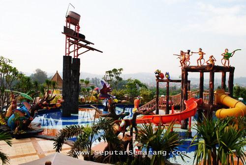 Kolam Renang Semarang Sebuah Perjalanan Jungle Toon Bukit Wahid Regency