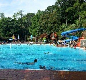 Kolam Renang Semarang Sebuah Perjalanan Water Park Semawis Fountain Kab