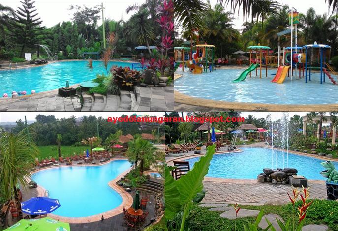 Ungaran Serasi Ayo Dolan Daftar Wisata Kolam Renang Fountain Waterpark