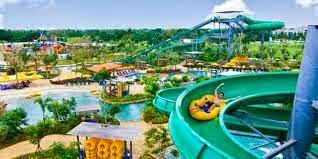 Wahana Air Fountain Residence Waterpark Resto Water Park Kab Semarang