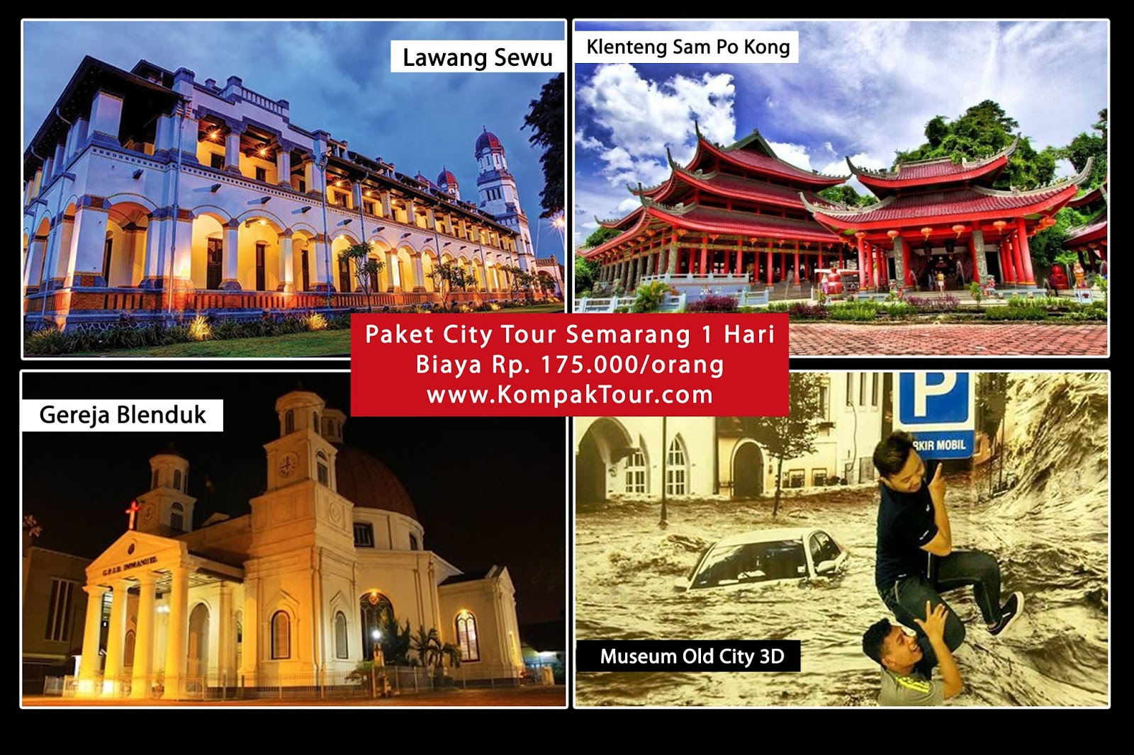 City Tour Semarang 1 Day Open Trip Travel Paket Wisata