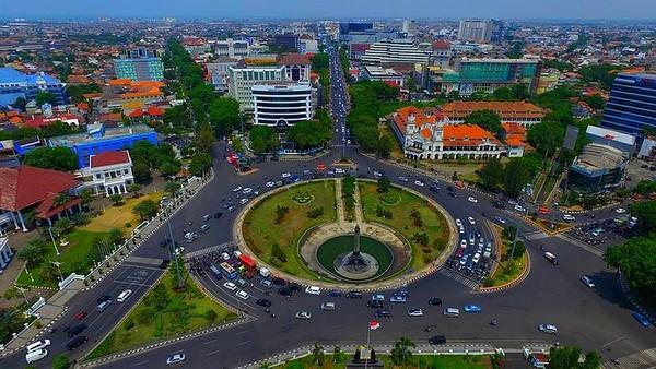 Koleksi Foto Jadul Kota Semarang Tempo Dulu Tugu Muda Kab