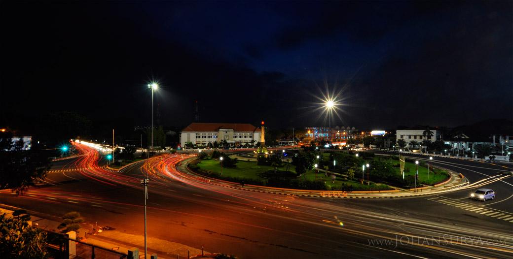 Night Shot Kawasan Tugu Muda Semarang Jawatengah Johansurya Kab