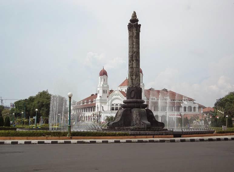 Sejarah Bangunan Tugu Muda Semarang Cerita Kab