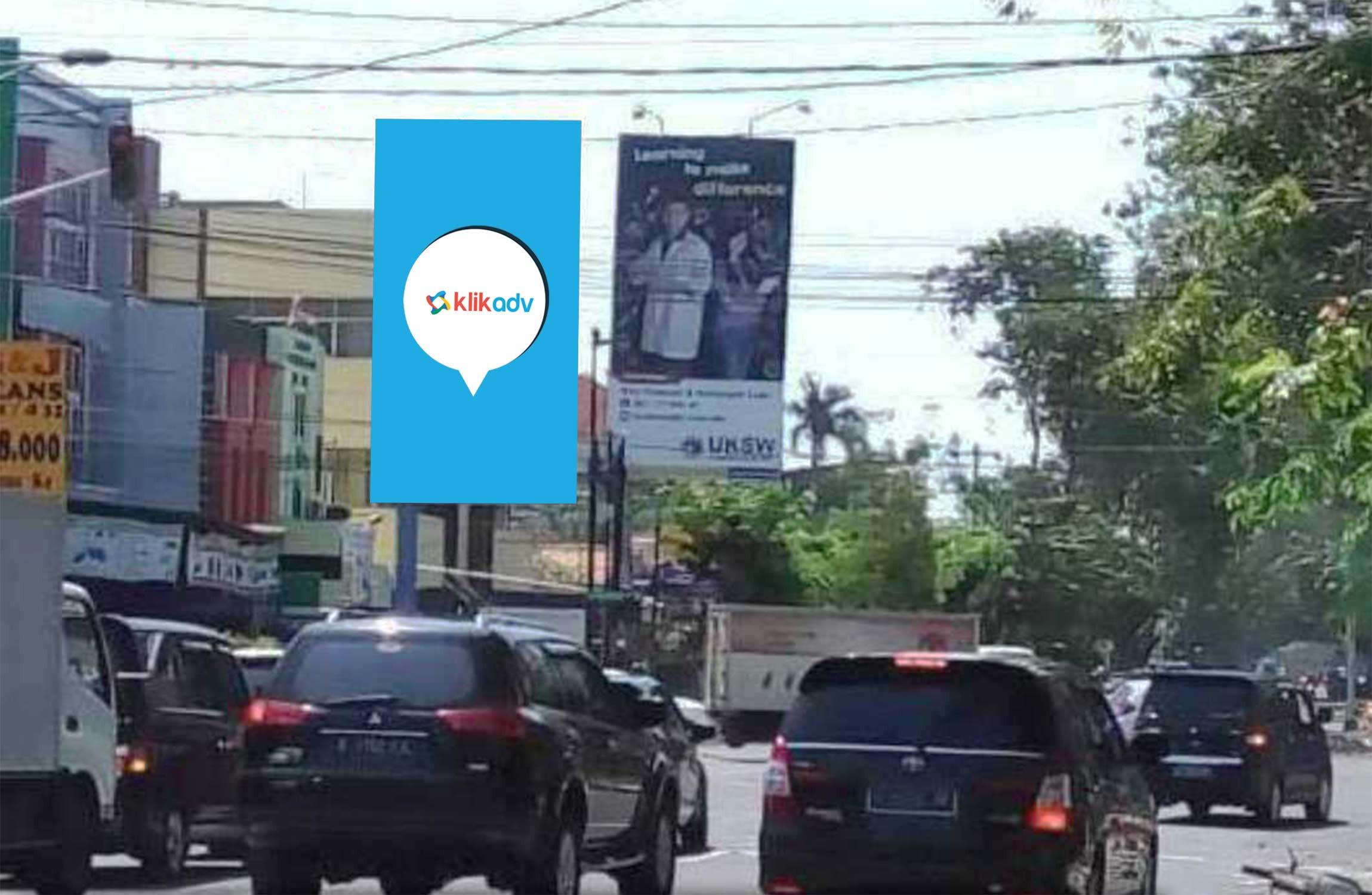 Sewa Billboard Jawa Tengah Kota Semarang Jl Imam Bonjol View