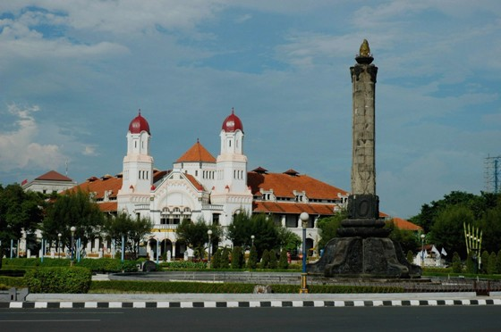 Tugu Muda Gambaran Semarang Berbagai Kenangan Berita Terletak Tengah Persimpangan