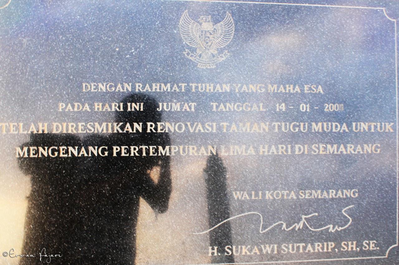 Tugu Muda Lawang Sewu Erwan Fajari Travel Photographer Semarang Kab