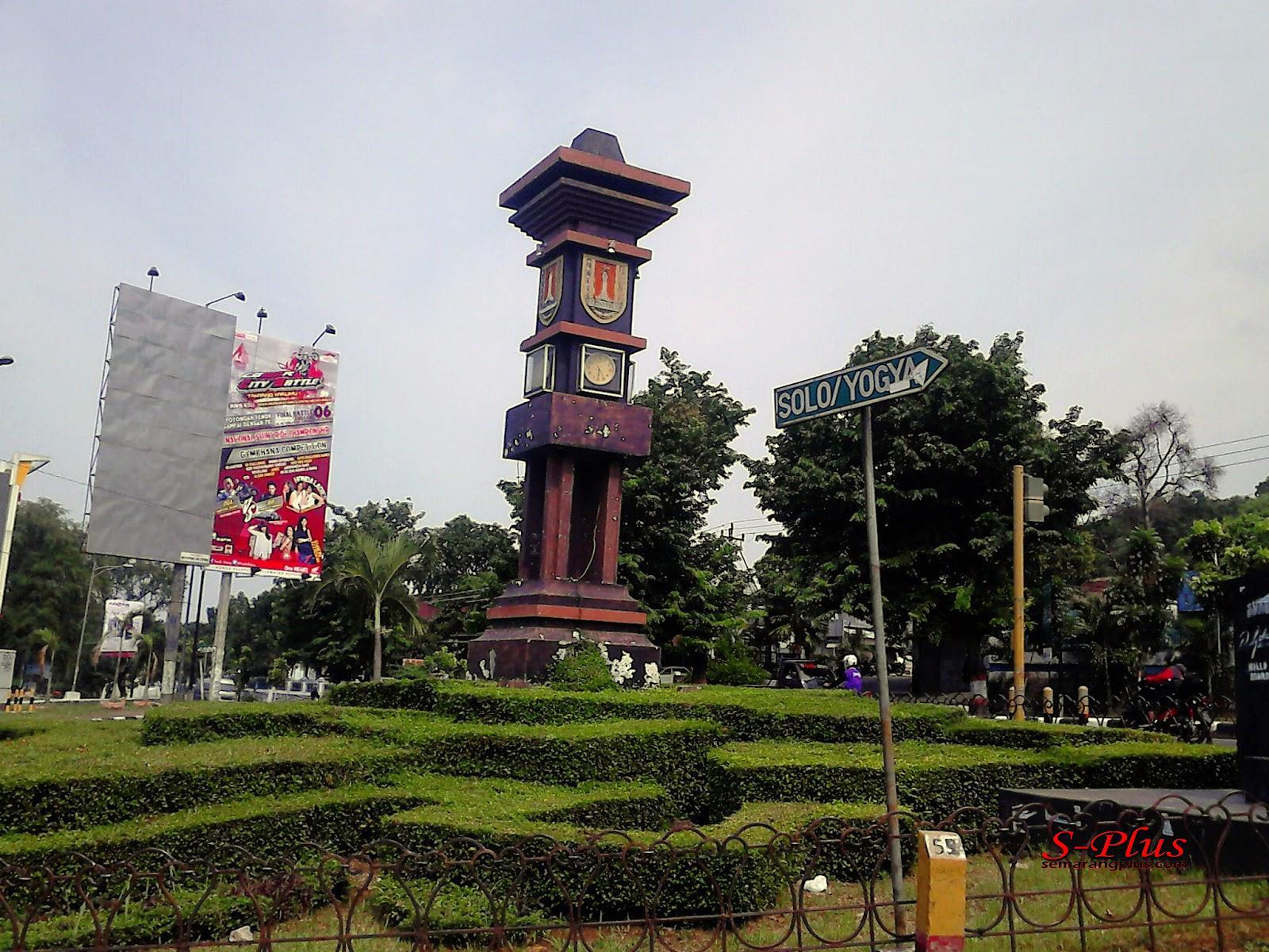 Tugu Pertigaan Kaliwiru Semarang Muda Kab