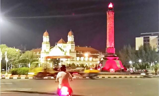 Wisata Semarang Panorama Malam Enak Dipandang Pemandangan Tugu Muda Hari