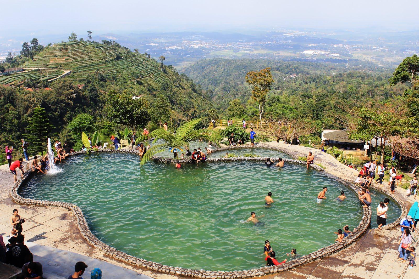 Catatan Unique Umbul Sidomukti Taman Renang Alam Berlokasi Desa Lereng