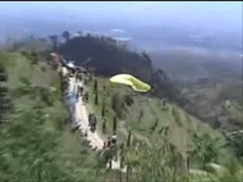Paralayang Umbul Sidomukti Jimbaran Kab Seamarang Tempoe Doloe 2009 Youtube