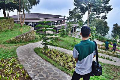 Pondok Kopi Umbul Sidomukti Sensasi Resort Nuansa Terbukti Banyaknya Pengunjung
