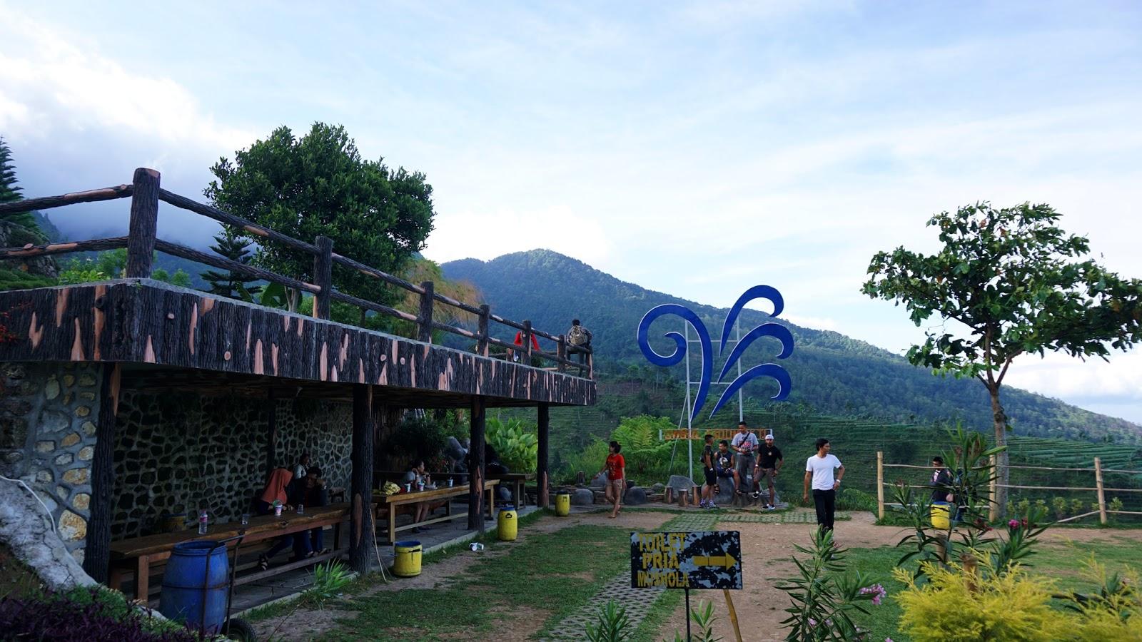 Rizkichuk Umbul Sidomukti Ekspektasi Realita Kaki Gunung Area Titik Pandang