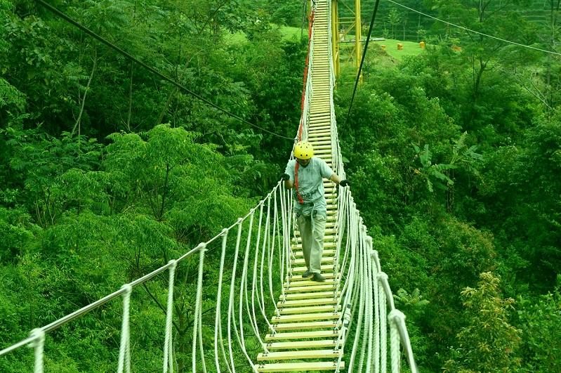 Semarang Indahnya Negeri Awan Kawasan Wisata Alam Umbul Sidomukti Kab
