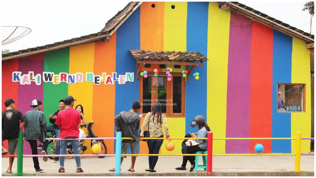 Desa Wisata Kab Semarang Tourism Information Center Bejalen Kampung Pelangi
