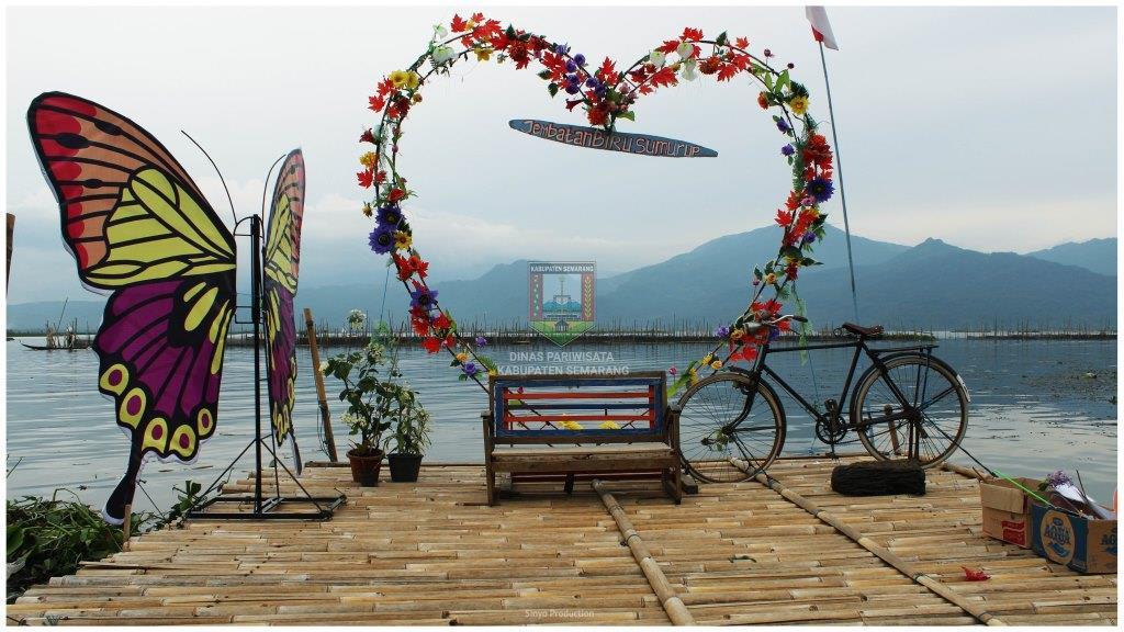 Jembatan Biru Tuntang Kab Semarang Tourism Information Center Wisata Kampung