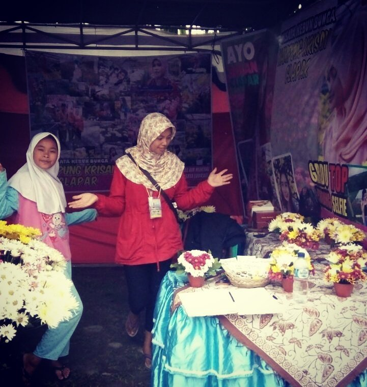Pesona Kab Semarang Twitter Stan Pameran Kampung Krisan Clapar Desa