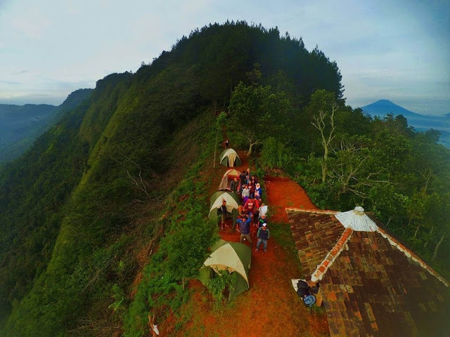 Gardu Pandang Lereng Kelir Wisata Ambarawa Mempesona Kab Semarang