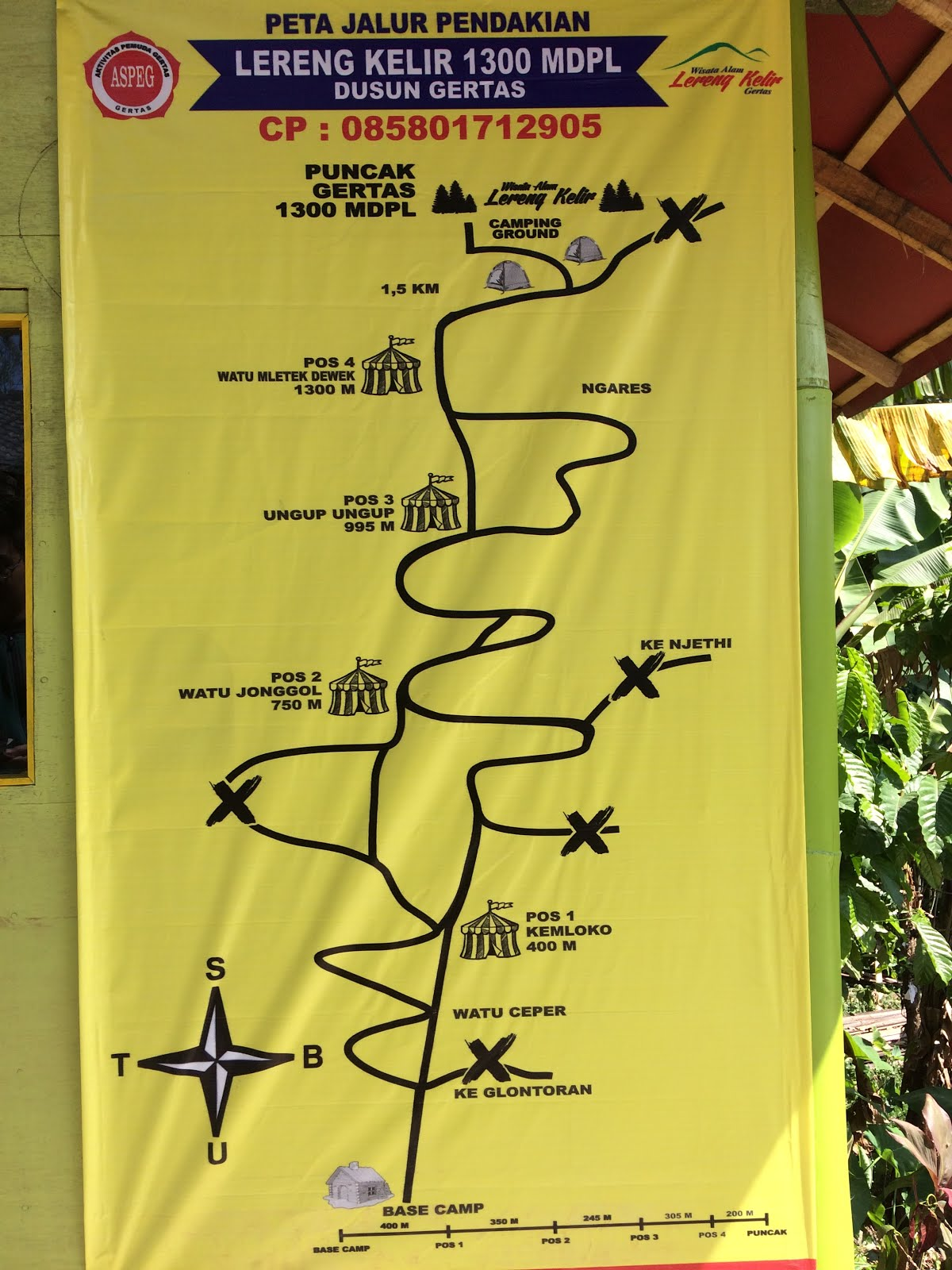 Wisata Lereng Kelir Pilihan Menikmati Keindahan Kabupaten Teman Menghabiskan Waktu