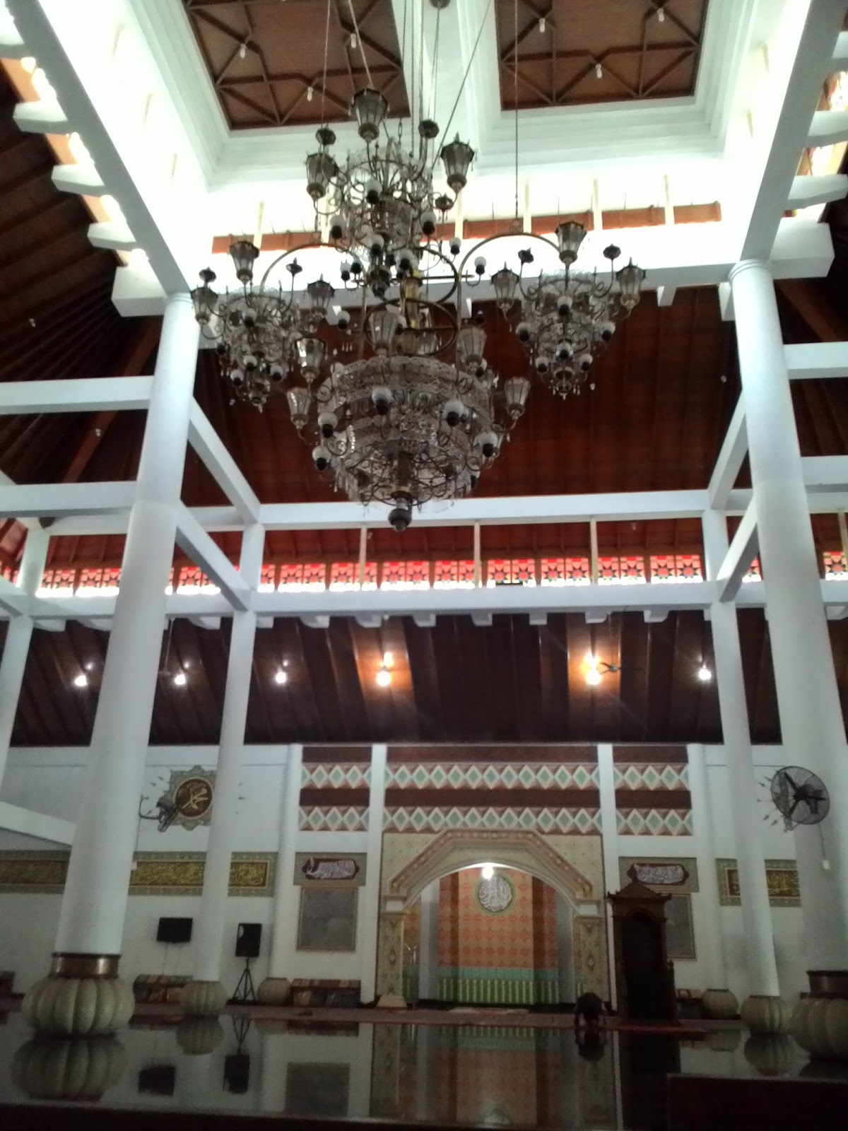 2016 Nada Diary Dokumen Pribadi Keadaan Masjid Agung Kota Serang