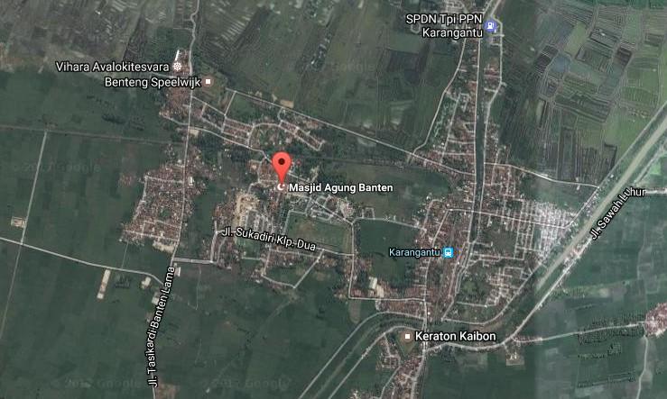 Destinasti Objek Wisata Masjid Agung Banten Kasemen Serang Demikianlah Sedikit