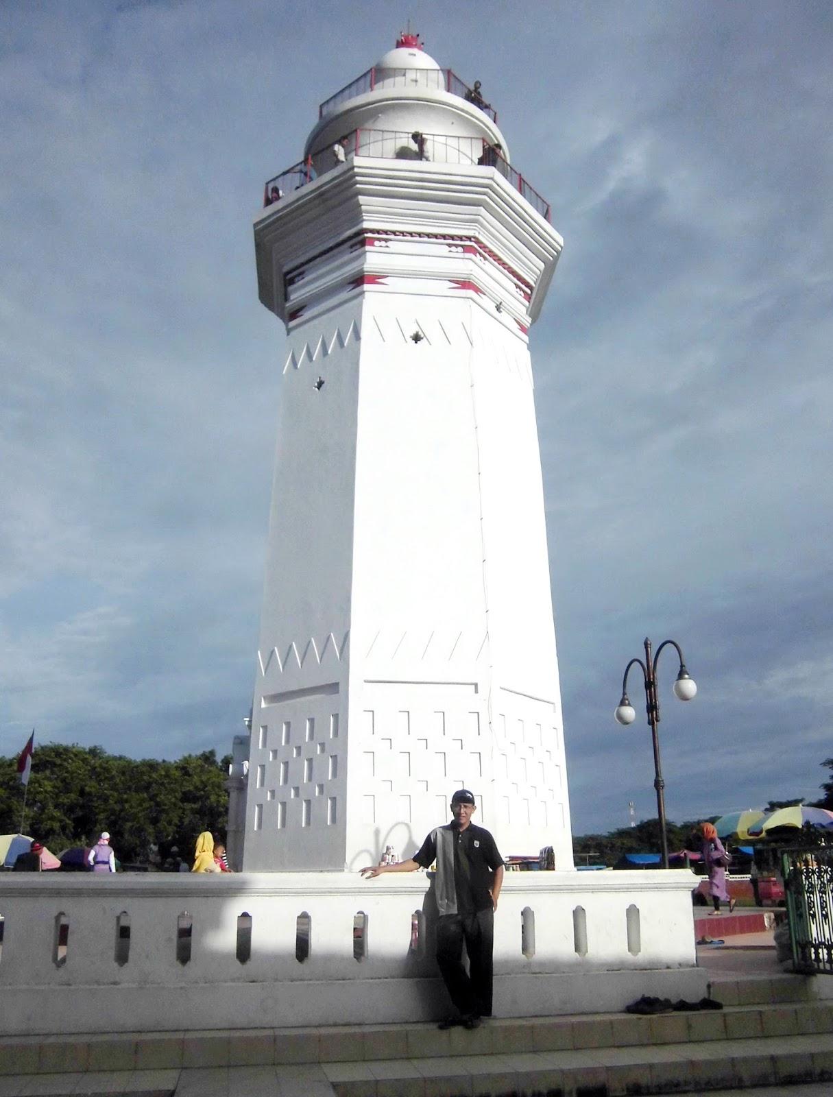 Firdaus Ubaidillah Masjid Agung Banten Serang Bangunan Komplek Luas Tanah