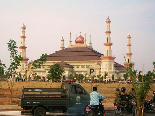 Flickriver Photos Ayra Jawa6 Masjid Agung Serang Banten Kab