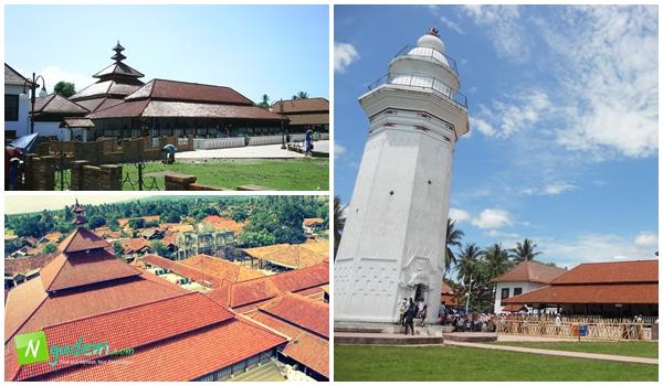 Jenis Tempat Wisata Banten Bisa Kamu Singgahi Bersama Masjid Agung
