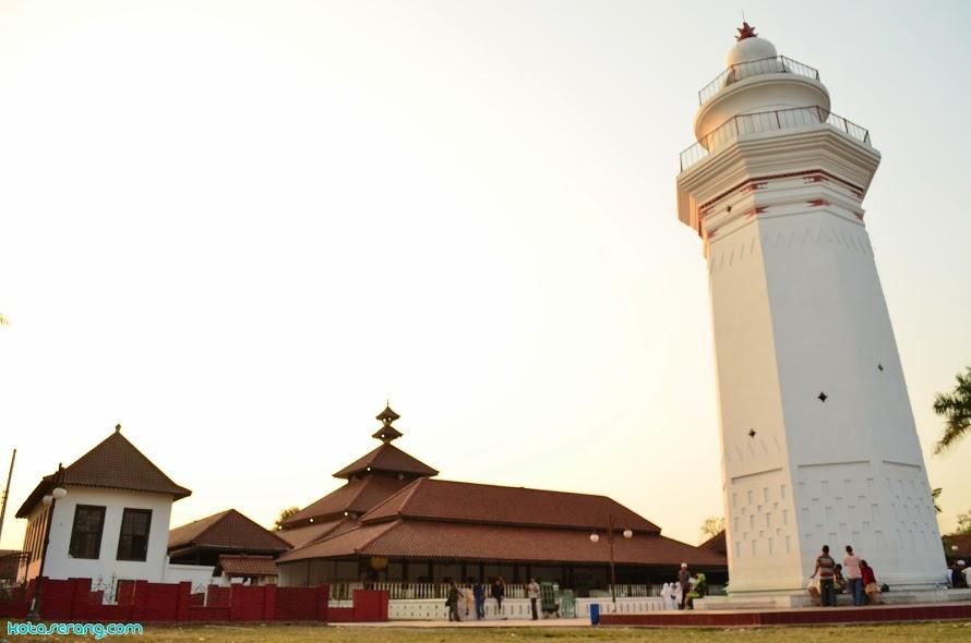 Kilas Pandang Sejarah Kabupaten Serang Part 1 Kotaserang Masjid Agung