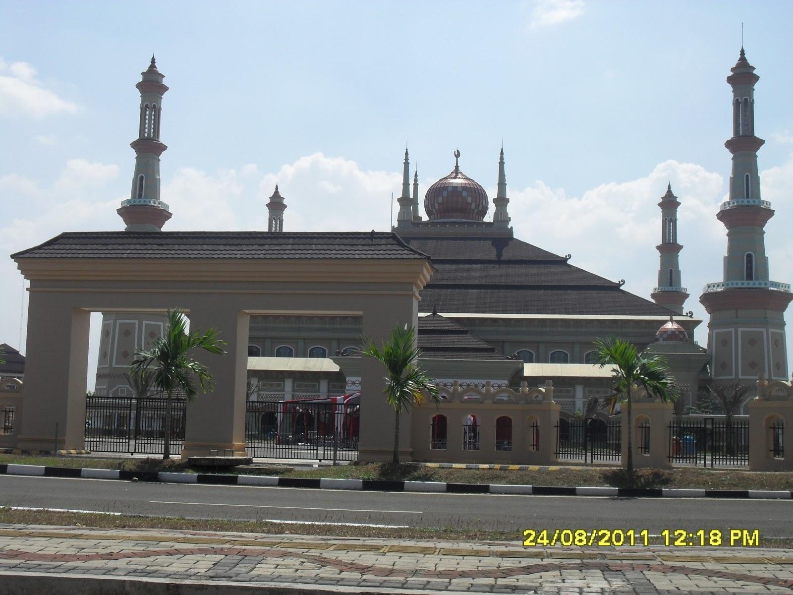 Lokasi 1 Masjid Agung Kawasan Pusat Pemerintahan Provinsi Banten Kp3b