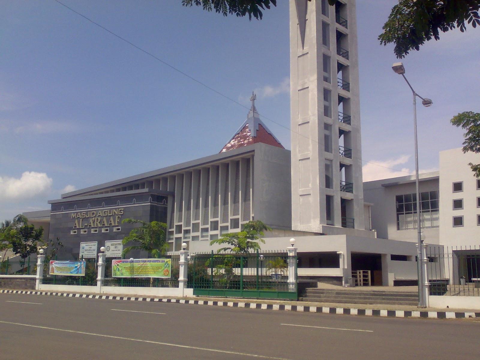 Masjid Agung Al Raaf Banten Kab Serang