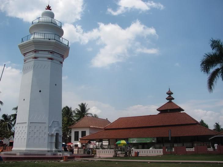 Masjid Agung Banten Msjd Nor Alayman Nurul Iman Kab Serang