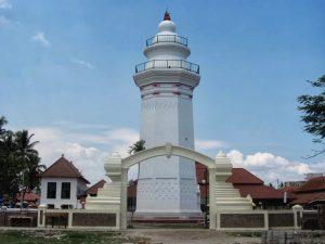 Masjid Agung Banten Serang Menara Https 2dheart Wordpress Kab