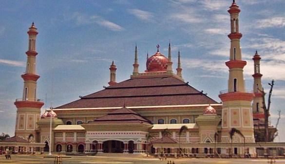 Masjid Agung Masing Provinsi Magzonia Serang Banten Kab