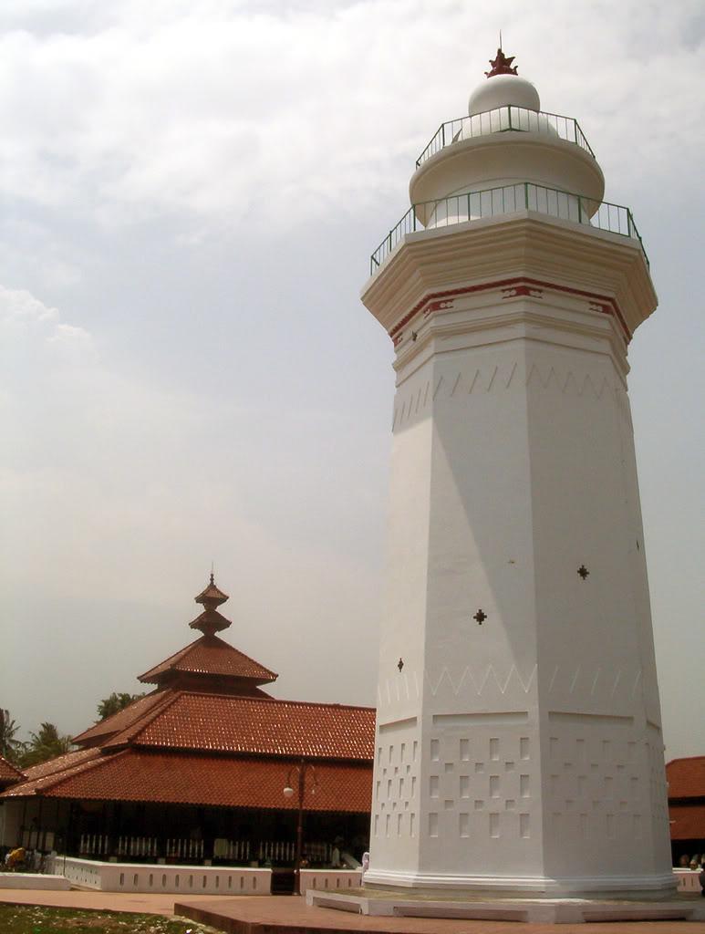 Menara Masjid Agung Banten Kab Serang
