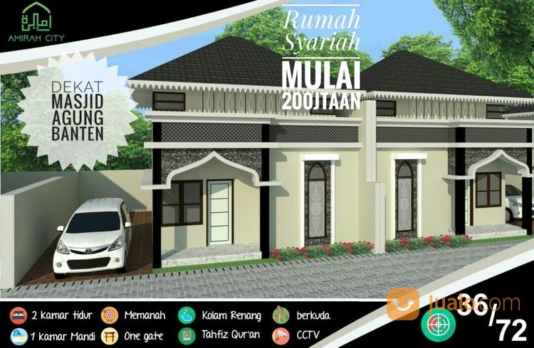 Rumah Syariah Dekat Alun Banten Kab Serang Jualo Dijual 13451361