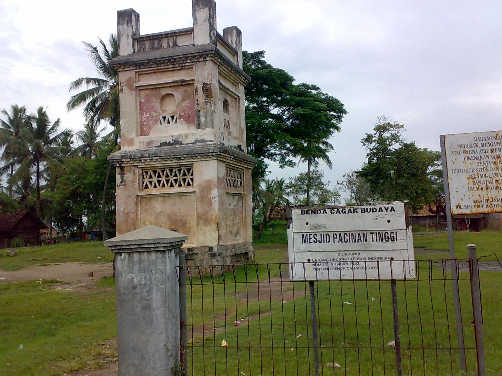 Situs Sejarah Banten Backpacker Koprol Pecinan Tinggi Dibangun Sebuah Pemukiman