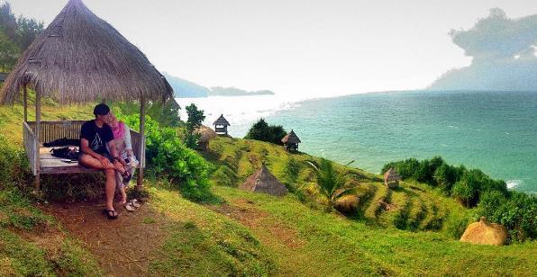 Alamat Harga Tiket Pantai Pasir Putih Anyer Karang Bolong Kab