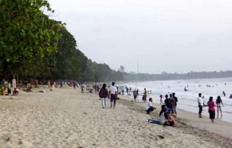 Berlibur Tempat Wisata Pantai Carita Pandeglang Banten Anyer Kab Serang
