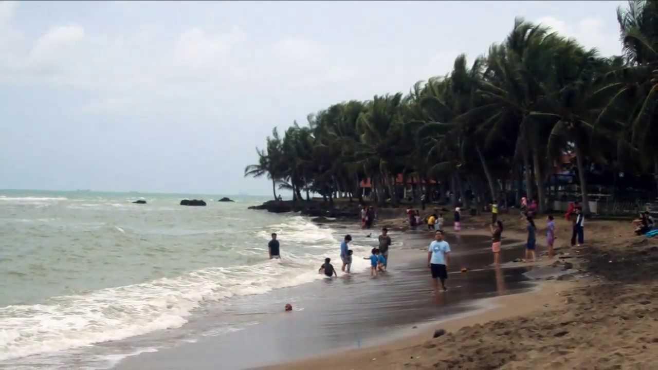 Pantai Anyer Tempat Wisata Serang Banten Youtube Kab